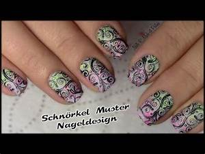 Nägel Lackieren Muster : schn rkel muster stamping nageldesign n gel lackieren flourish nail art tutorial youtube ~ Frokenaadalensverden.com Haus und Dekorationen