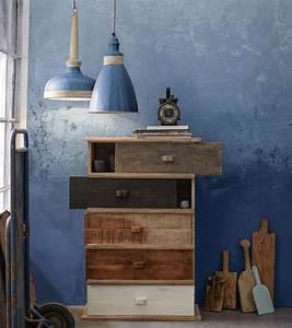 Maritime Möbel Blau Weiß : maritim einrichten m bel aus holz und textilien in blau und wei living at home ~ Bigdaddyawards.com Haus und Dekorationen