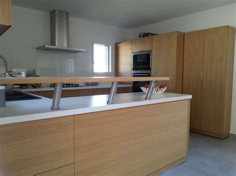 cuisine en bois frene cuisine sur mesure ebèniste fabrication de cuisine sur