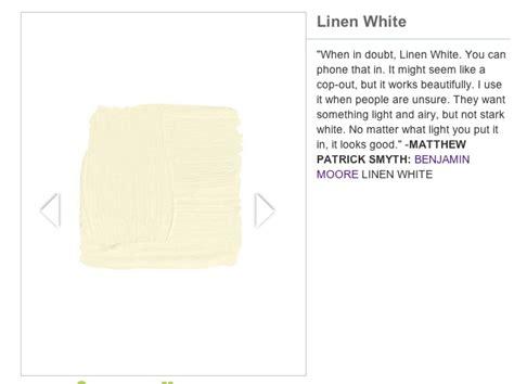 BENJAMIN MOORE LINEN WHITE exterior Paint Pinterest