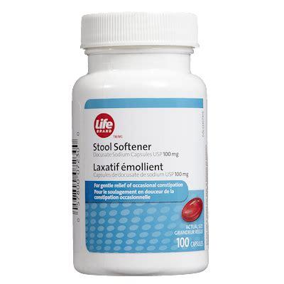 Common Stool Softeners - brand stool softener 100mg x 100 capsules antacids