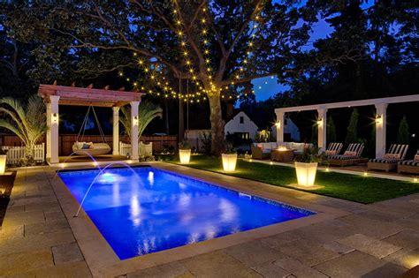 Peek Into This Resortstyle Backyard  Hgtv's Decorating