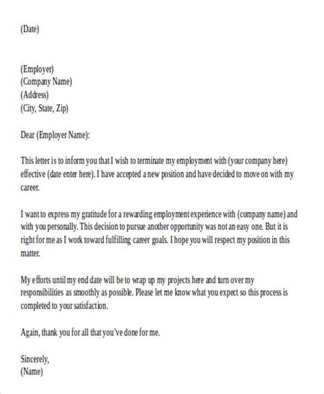 resignation letter template    premium