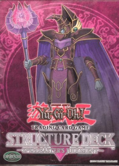 Best Spellcaster Structure Deck by Deck Yu Gi Oh Spellcaster S Judgment Structure Deck