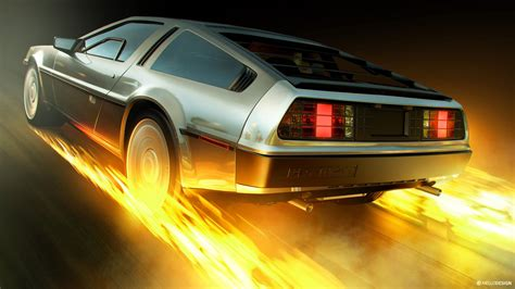 Back To The Future Delorean 4k Wallpaper Hd Car Wallpapers