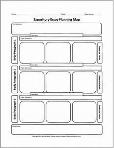 Another Graphic Organizer For Mapping Out An Expository