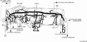 Infiniti G25 Harness Egi  Engine  Main  Room