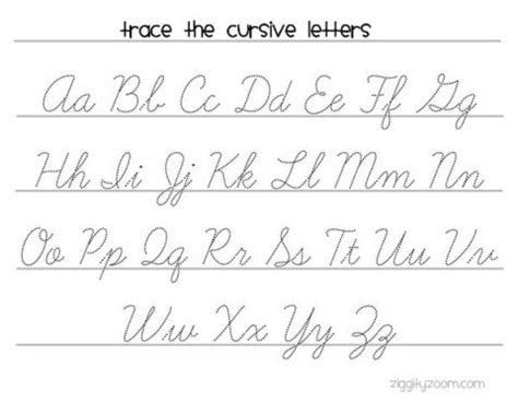 cursive writing worksheets to print arted cursive