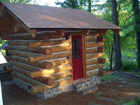 log cabin shed all done we will build a 30x30 log cabin home in west