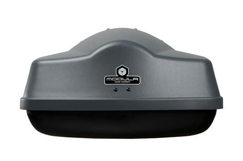 modula box auto box da tetto portatutto auto modula ciao 310 litri grigio