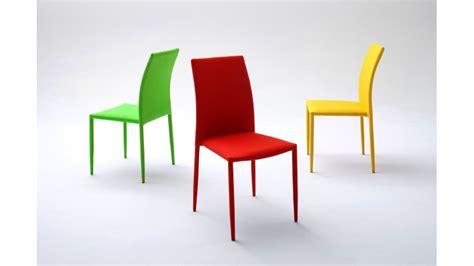 chaise électrique chaise design en tissu acrylique de couleur
