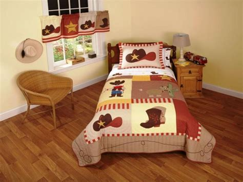 Interesting Cowboy Themed Kids Bedroom-rilane