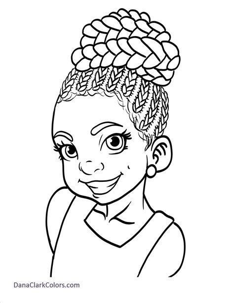 Free African American Children's Coloring Pages