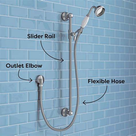 Bathroom Mirror Mounting Kits by Shower Rail Kits Vs Shower Rigid Riser Kits