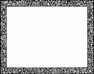 Christmas Border Printable Black And White | New Calendar ...