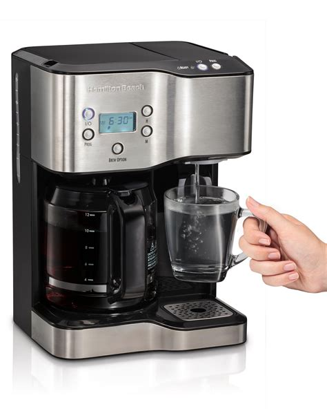 Amazon.com: Hamilton Beach 49982 Coffee Maker & Hot Water Dispenser, Black: Kitchen & Dining