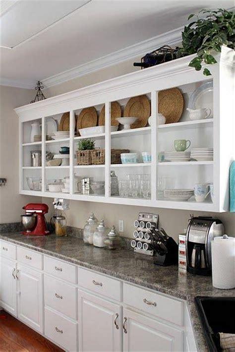 open kitchen shelves instead of cabinets 10 fa 231 ons de transformer ses armoires de cuisine sans les 9011