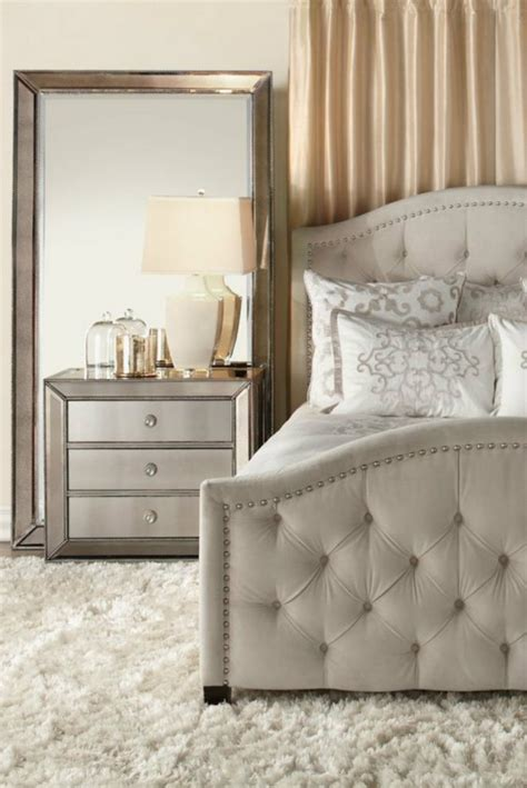 luxury mirrors  contemporary bedrooms