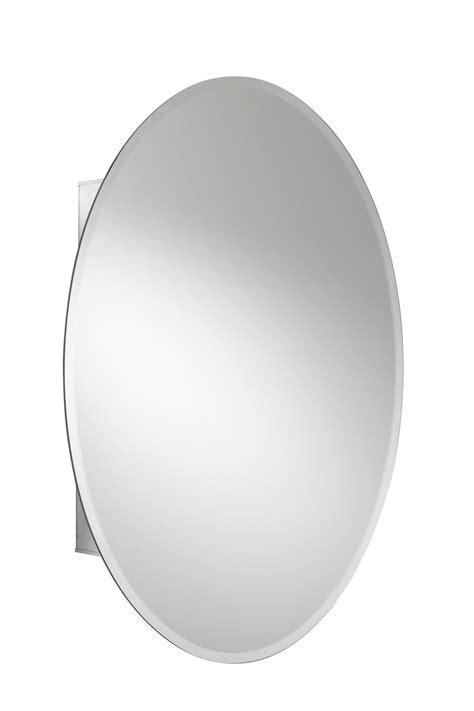Croydex Orwell Single Door Oval Aluminium Cabinet 535 X