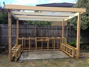 Outdoor BBQ Entertaining Area - Landscaping Services