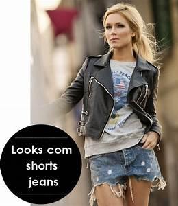 Jaqueta-de-Couro-Moletom-Shorts-Jeans - Cena Fashion