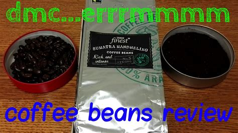 Tesco Finest Sumatra Mandheling Coffee Beans Review.