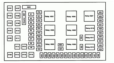 Fuze Diagram 2002 Ford E350 by 2005 F350 Fuse Panel Diagram Wiring Diagram And
