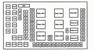 2005 F350 Fuse Panel Diagram