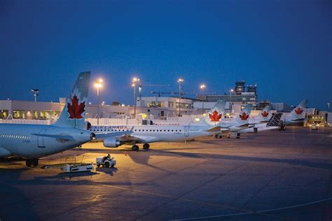 bureau air canada montreal to how many influential cities will the montréal airport