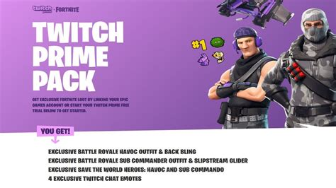 fortnite twitch prime pack   save  world heroes