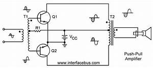 push pull amplifier interfacebus With pull pull amplifier