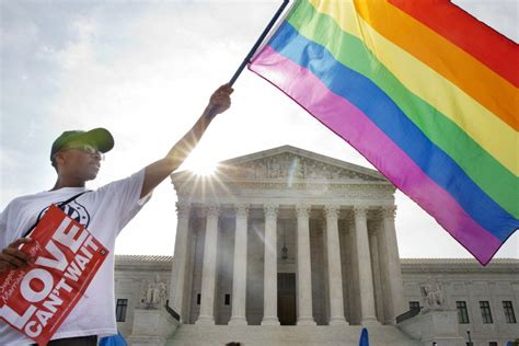 Us Supreme Court Legalizes Gay Marriage Nationwide The
