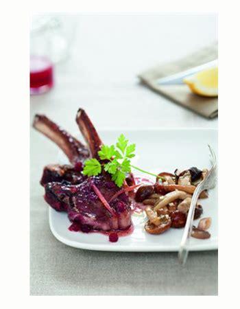 cuisiner des airelles c 244 telettes de chevreuil aux airelles cuisiner le gibier