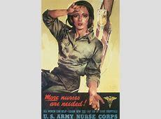 Army Nursing in World War II Uniforms