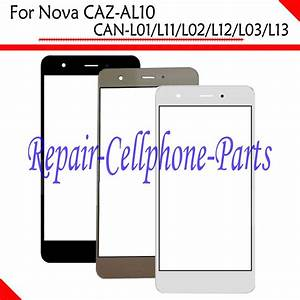 100  New Front Touch Screen Glass Outer Lens For Huawei