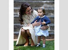 Kate Middleton photos with Prince George, Princess