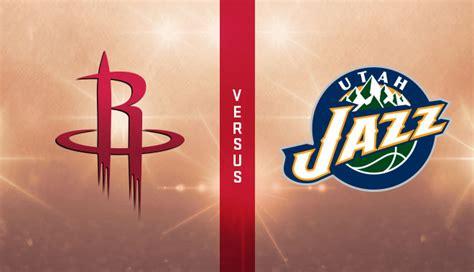 SOI KÈO BÓNG RỔ NBA: UTAH JAZZ vs HOUSTON ROCKETS