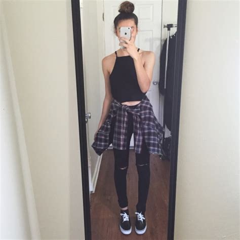 Flannel outfit ideas   Tumblr