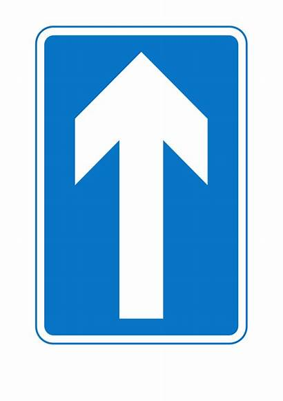 Signs Sign Clipart Road Clip Traffic Oneway