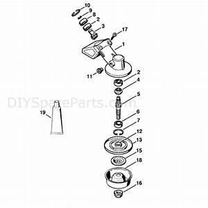 Stihl Fs 85 Brushcutter  Fs85rx  Parts Diagram  Gear Head