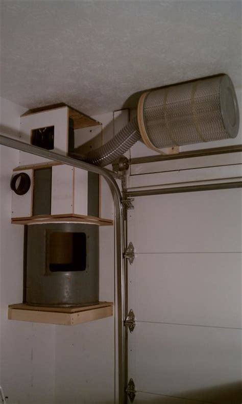 diy hp automatic dust collection system  pmcustom