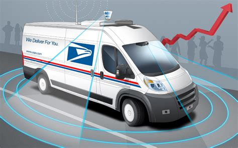 New Postal Truck by U S Postal Service Announces New Prices For 2018
