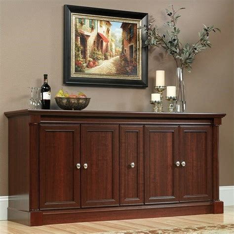 Entertainment Credenzas by Entertainment Center Cherry Palladia Credenza In Cabinet