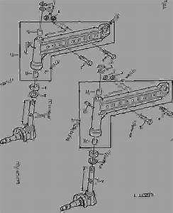 Front Axle Knee  Spindle Knuckle  With Hydrostatic Steering