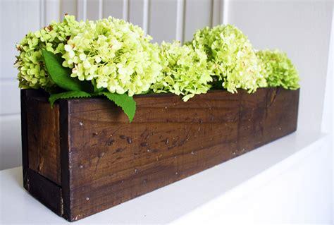 Rustic Planter Box Centerpiece