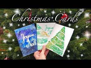 Watercolor Christmas Cards Speed Painting