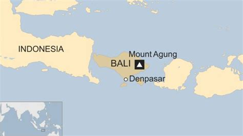 bali volcano thousands evacuated  mount agung area