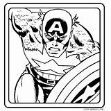 Captain America Coloring Pages Printable Shield Drawing Face Cool2bkids Clipartmag sketch template