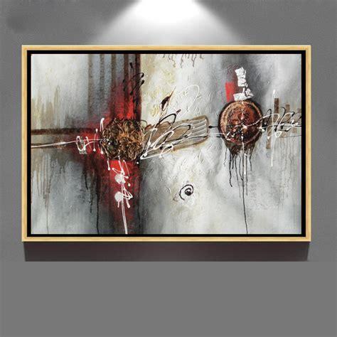 œuvres d moderne toile abstraite encadr 233 e peinture 224 l huile d 233 corative peinture et