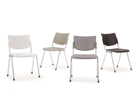 lamia plastic waiting room chair by diemmebi design angelo